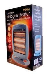 Lloytron 1600W Halogen Heater
