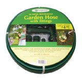 Evergreen garden Hose 15 metre with fittings